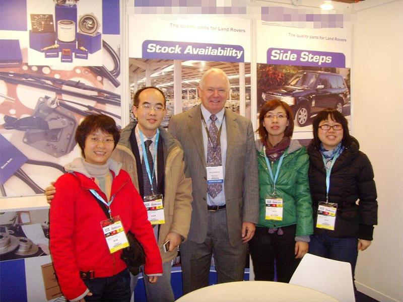 2008 Shanghai Frankfurt Auto Show  business start from 2003 customer from SHROPSHIRE UK,