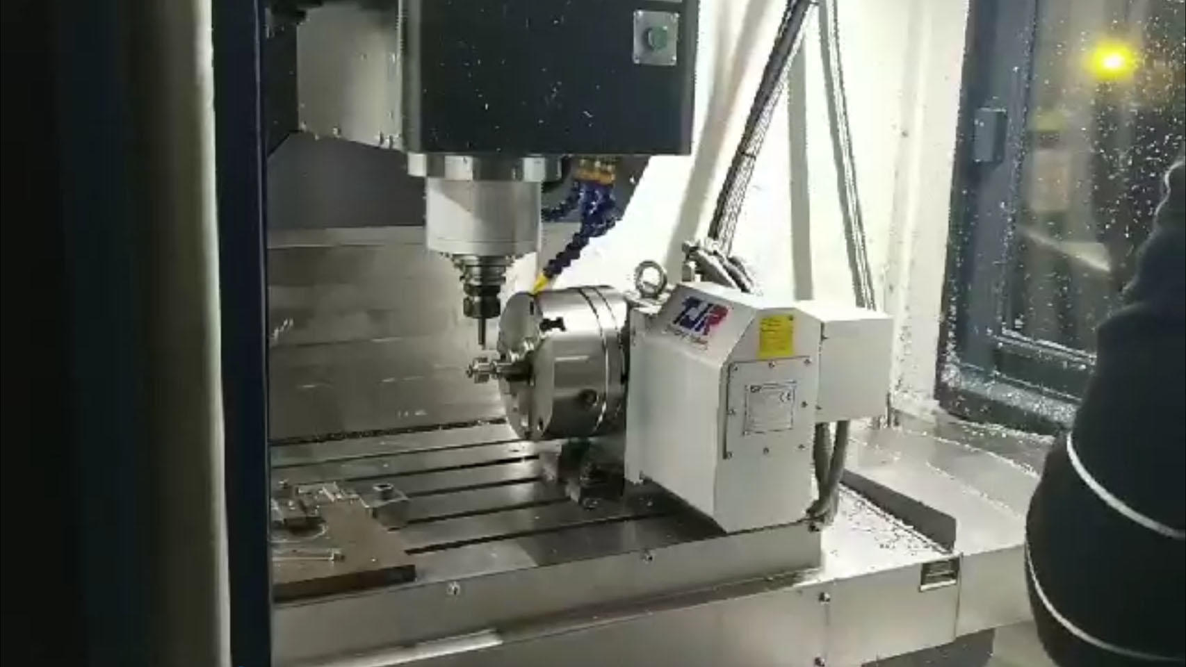 4 axle CNC